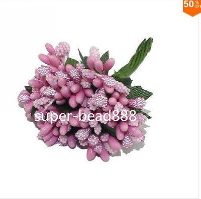 144PCS Mulberry party Flower Stamen stem marriage stamen wedding box decoration