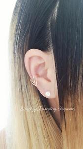 Double-Chevron-Ear-Cuff-Conch-Ear-Cuff-Cartilage-Helix-Earring-Clip-On-Jewellery