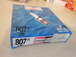 NOS NGK Spark Plugs Box of 4 D9EVX