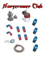 Holley Blue 110 Gph Fuel Pump Complete Installation Kit Hose Ends Braided 8 Hose