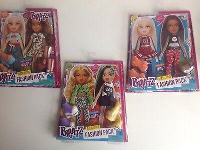 Bambole Bratz Abiti Da 6 Nuovi Abiti Bratz Deluxe Fashion Confezione X 3 Nuovi Abiti Set-mostra Il Titolo Originale Quell Summer Thirst