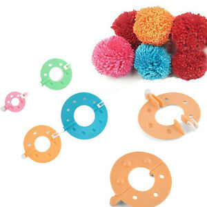 8PCS-Useful-Pom-Pom-Maker-Fashion-Fluff-Ball-Weaver-Baby-Knitting-Craft-Tool