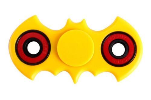 Yellow White Red Green Blue Batman Fidget Spinners Hand spinner Black