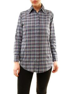 Authentic Bcf72 Shirt Long Size 1 Us Striped Sleeve Rrp Sundry Women's £130 Blue 4waqTT