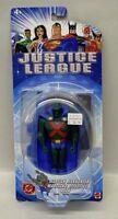 Justice League Animated Series Martian Manhunter 5 Inch Figure Mattel Nip S124-3