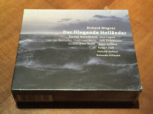 Richard Wagner Der fliegende Holländer BARENBOIM VILLAZON ORIG TELDEC 2CD SEALED