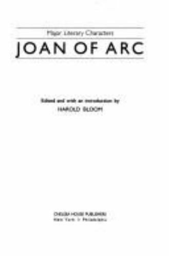 Joan of Arc (Major Literary Characters)