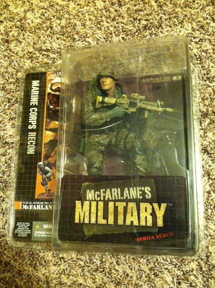Mcfarlane's military series debut marine corps recon