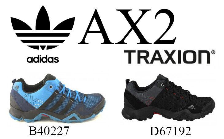 ADIDAS AX2 B40227 D67192 TREKKINGSCHUHE TURNSCHUHE Gr. UK 7.5 - UK 11 + Geschenk