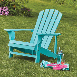 Classic Painted Wood Outdoor Backyard Lawn Furniture