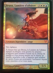 Bruna-Lumiere-d-039-Albatre-PREMIUM-FOIL-VF-French-Light-of-Alabaster-Mtg-magic