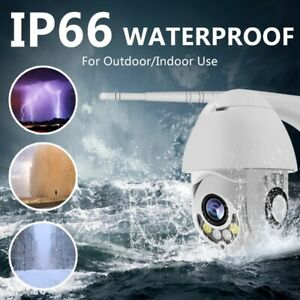 WIFI-Camera-Outdoor-PTZ-IP-Camera-H-265X-1080p-Speed-Dome-CCTV-Security-Cameras