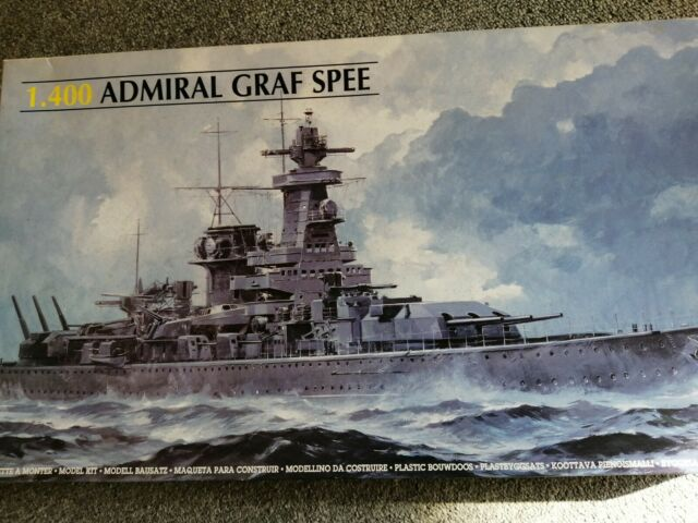 Heller DKM Panzerschiff/ Schwerer Kreuzer Admiral Graf Spee 1:400 selten