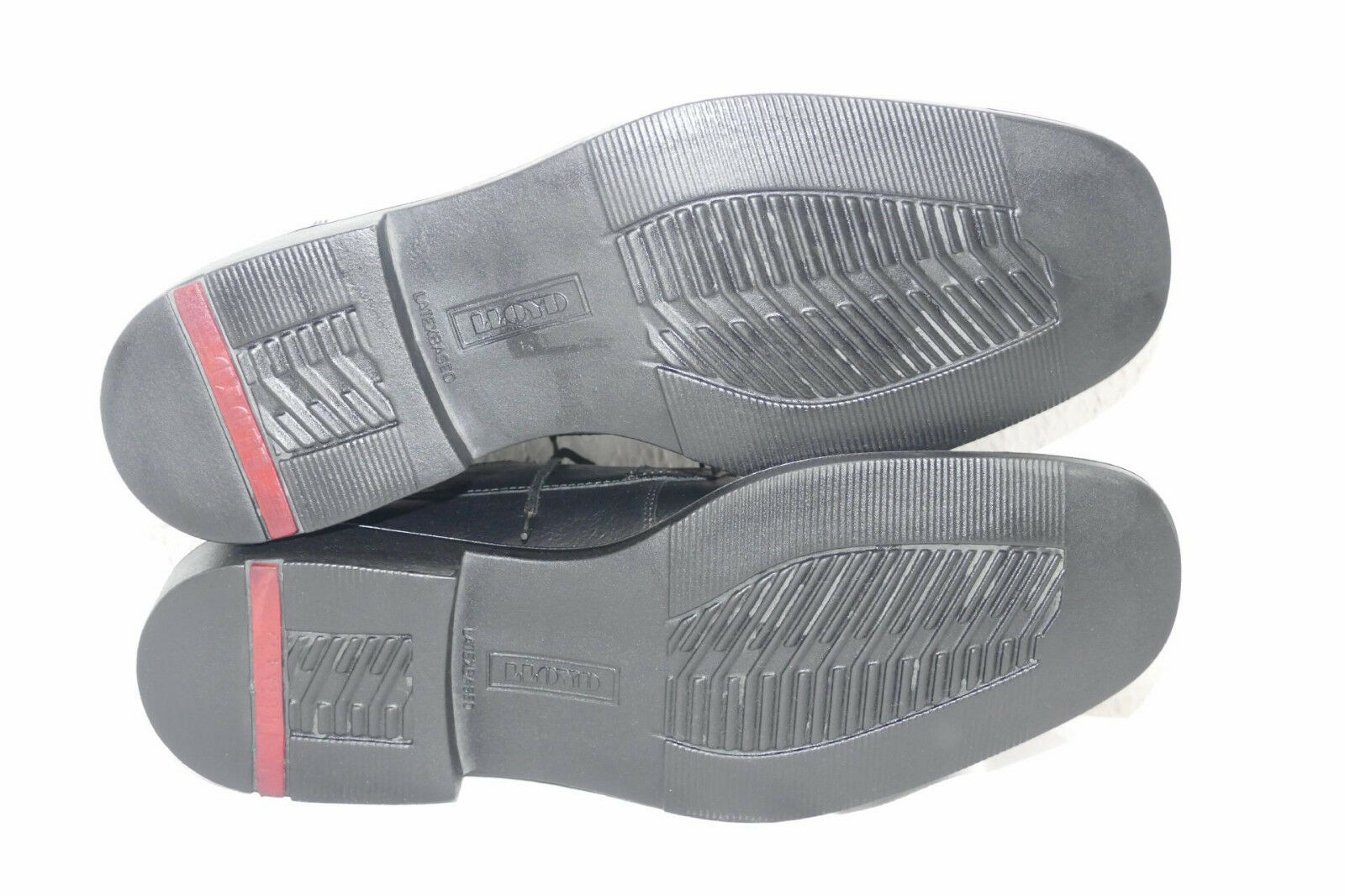 808---Lloyd  Modell Denzel UK 8,5  neuwertig schwarz  Lederschnürer leicht Farbe schwarz neuwertig c4f6c2