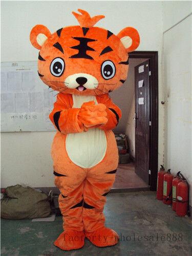 acquista marca TIGER Mascotte Costume Vestiti Party Costume autotoon Adulti Taglia Taglia Taglia una spedizione veloce  vendita con alto sconto