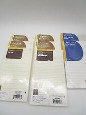 Filofax Personal Size Accessory Bundle 8 Pc To Donotepapernotepadholder Nip