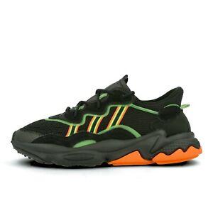 Shoes Black Solar Orange