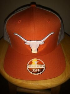 100% authentic 7a9f6 89240 Image is loading Texas-Longhorns-Cap-NCAA-OSFA-Roadrunner-Snapback-Hat-