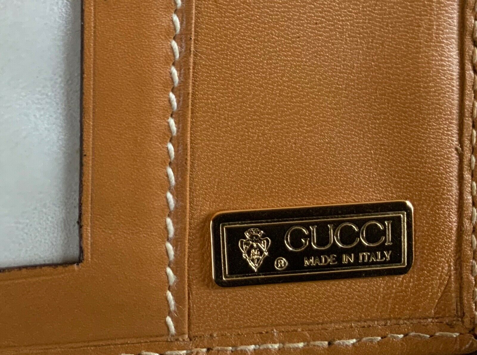 Authentic Vintage Gucci Leather Check Wallet - Cl… - image 7