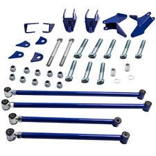Triangulated 4 Link Bars Kit Suspension Bushings For Chevrolet S10 1994 2004 96