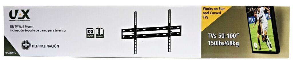 UAX 50 in - 100 in Tilt TV Wall Mount | Ebay
