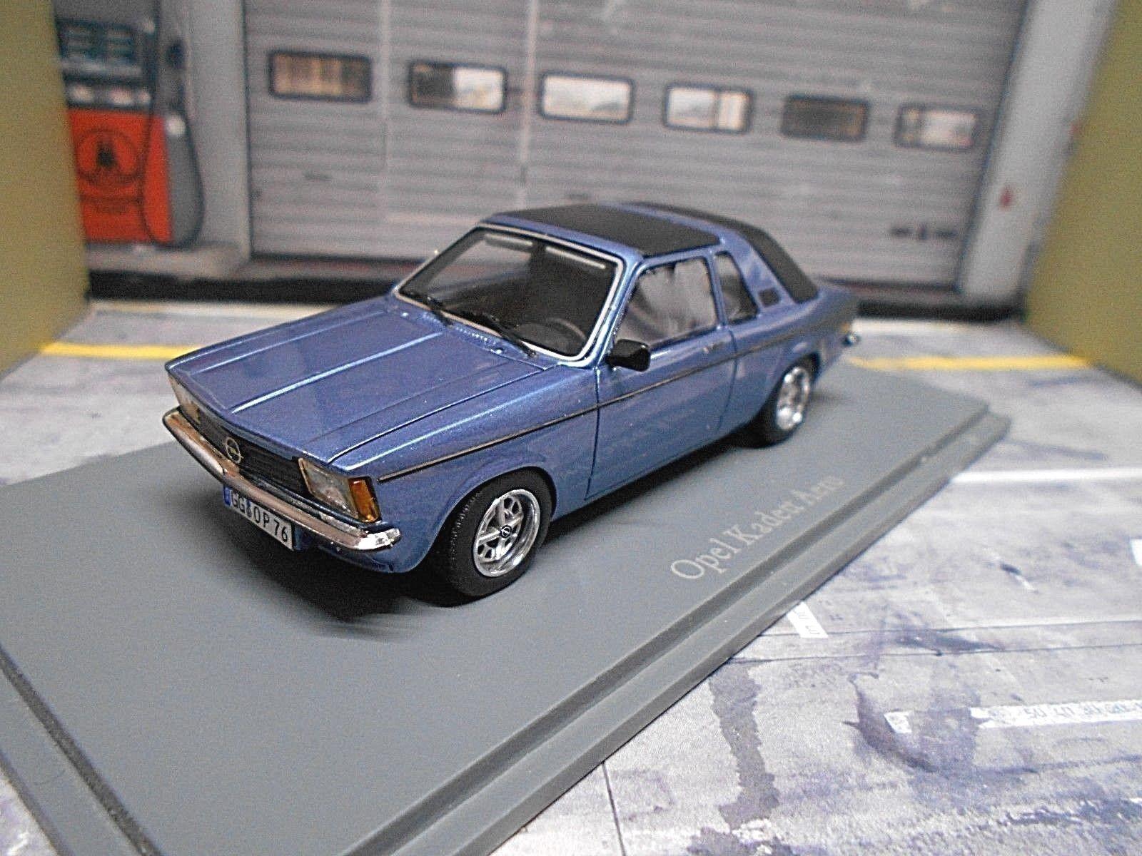 OPEL KADETT C CABRIO CABRIOLET AERO Blu Blue Neo 1/500 Limited Resin 1:43