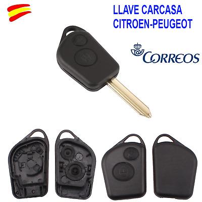 PEUGEOT 206 306 MANDO CARCASA LLAVE key CITROEN Xsara Picasso Saxo Berlingo