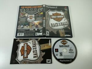 Harley Davidson Race to Rally PS2 Activision 2006 Complete