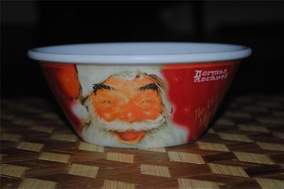 Kelloggs Cornflakes Santa Claus Norman Rockwell Cereal Bowl 100th Anniversary