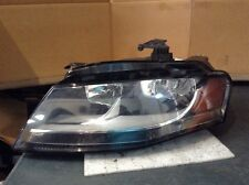 2009 2010 2011 Audi A4 S4 OEM Left Halogen Head Light Lamp LE 07 E 6163 #A828