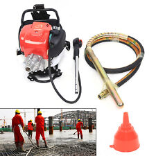 Electric Power Concrete Vibrator Tool Screed Cement Cement 4 Stroke 14hp Us