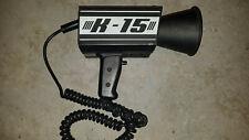 Traffic Speed Radar K 15 Mph Industries Doppler Gun Untested As Is 12v Handheld
