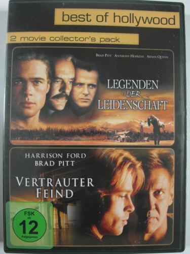 1 von 1 - Legenden der Leidenschaft + Vertrauter Feind - Brad Pitt, Harrison Ford, Hopkins