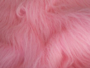 LONG-Pile-Fun-Faux-Fur-Fabric-Material-BLOSSOM-PINK