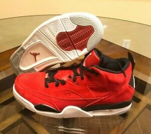 new concept 55226 5be70 Image is loading 150-Jordan-Son-of-Mars-Gym-Red-Black-