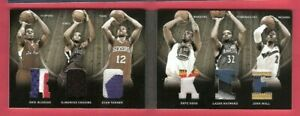 DEMARCUS-COUSINS-JOHN-WALL-ERIC-BLEDSOE-EVAN-TURNER-6-ROOKIE-JERSEY-PATCH-CARD