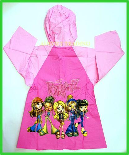 Brand new Bratz Raincoat girls kids cartoon rain coat waterproof
