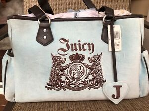 Juicy Couture Light Blue Velour