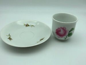 MEISSEN-Cup-And-Teller-1-Choice-Top-Condition