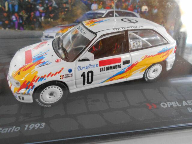 Opel Astra Gsi 16v Taylor Rally Carlo 1993 1/43