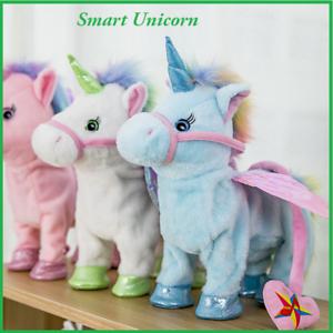 New18 Electronic Smart Pet Unicorn Toys Singing Walking Halloween