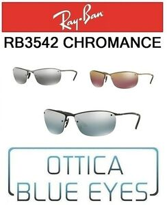 6e1339132517 Image is loading RAYBAN-Sunglasses-rb3542-chromance-Collection-Sunglasses- Ray-Ban-