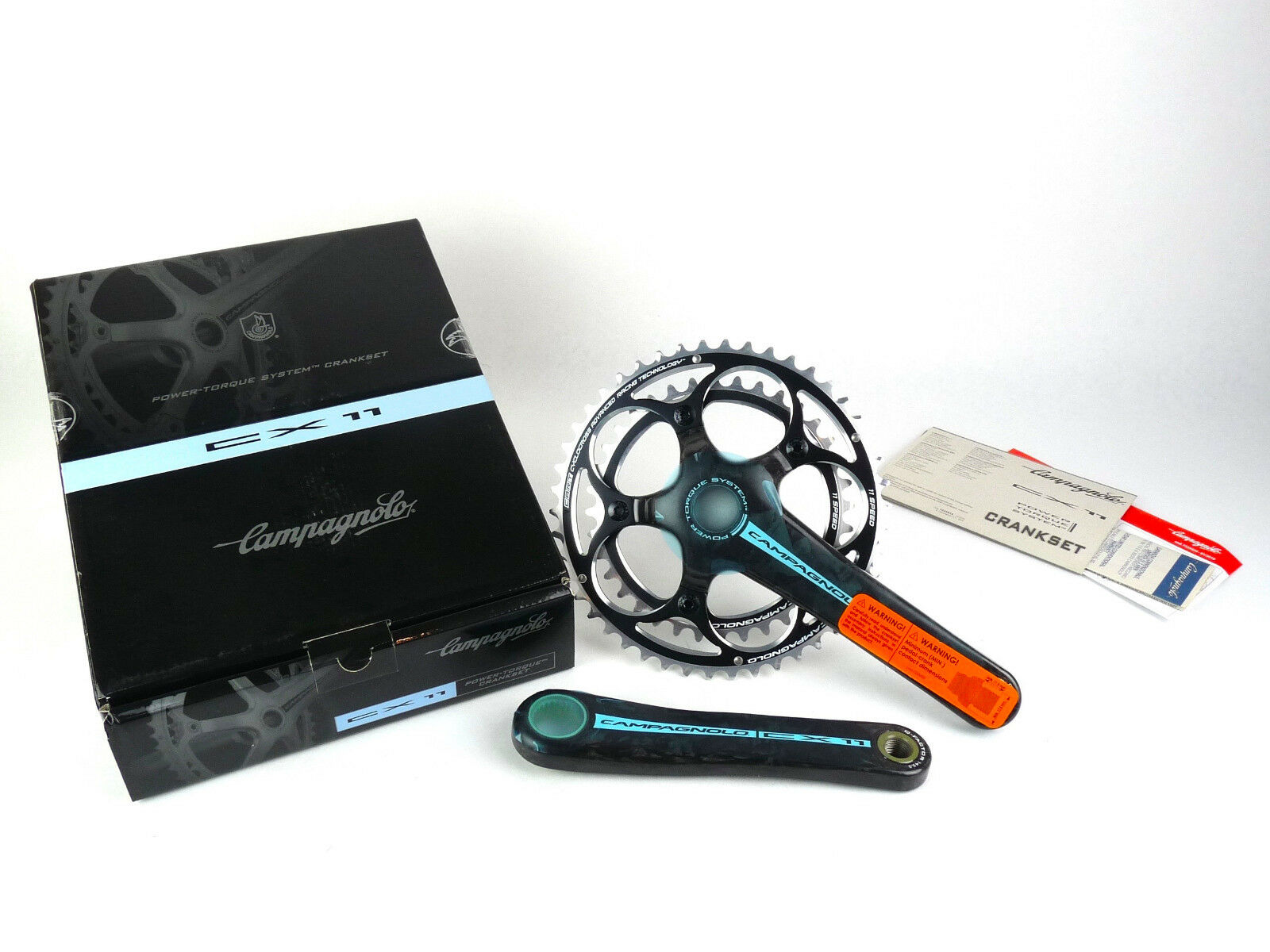 Campagnolo CX Carbon Crankset 170mm 46 36 11 Speed Cyclocross NEW