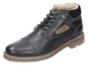 Bugatti-Stiefeletten-Leder-Boots-schwarz-311-18050-1000-1000-Gr-40-46-Neu13