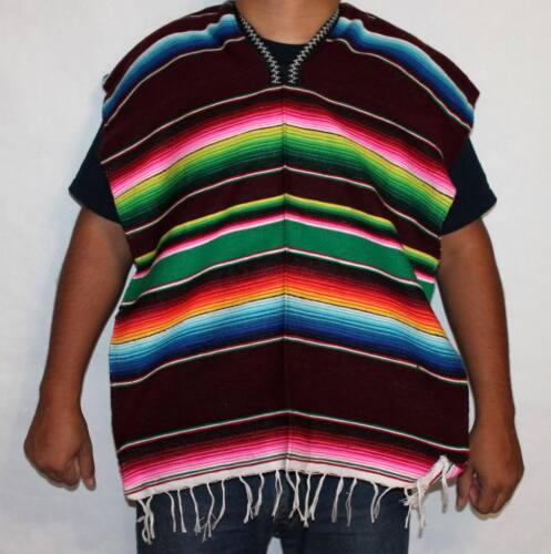 3-6 yrs Mexican Poncho Sarape Halloween Costume Mexican Fiesta Cinco de Mayo