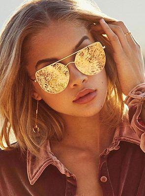 New Women's Quay Santa Fe Sunglasses Rose/Pink