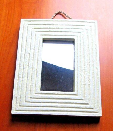 schmal Holzrahmen Kleiner Spiegel aus 3 versch Dekospiegel Farben wählbar