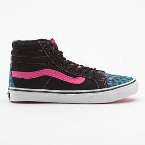 Sur Neuf Titre Léopard Détails Vans Bleurose D'origine Motif Chaussures Shoes Le Femmes Afficher Sneaker vm80nPNwOy