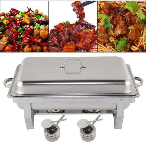 Speisenwärmer Chafing Dish Warmhaltebehälter Wärmebehälter Speisewärmer DE