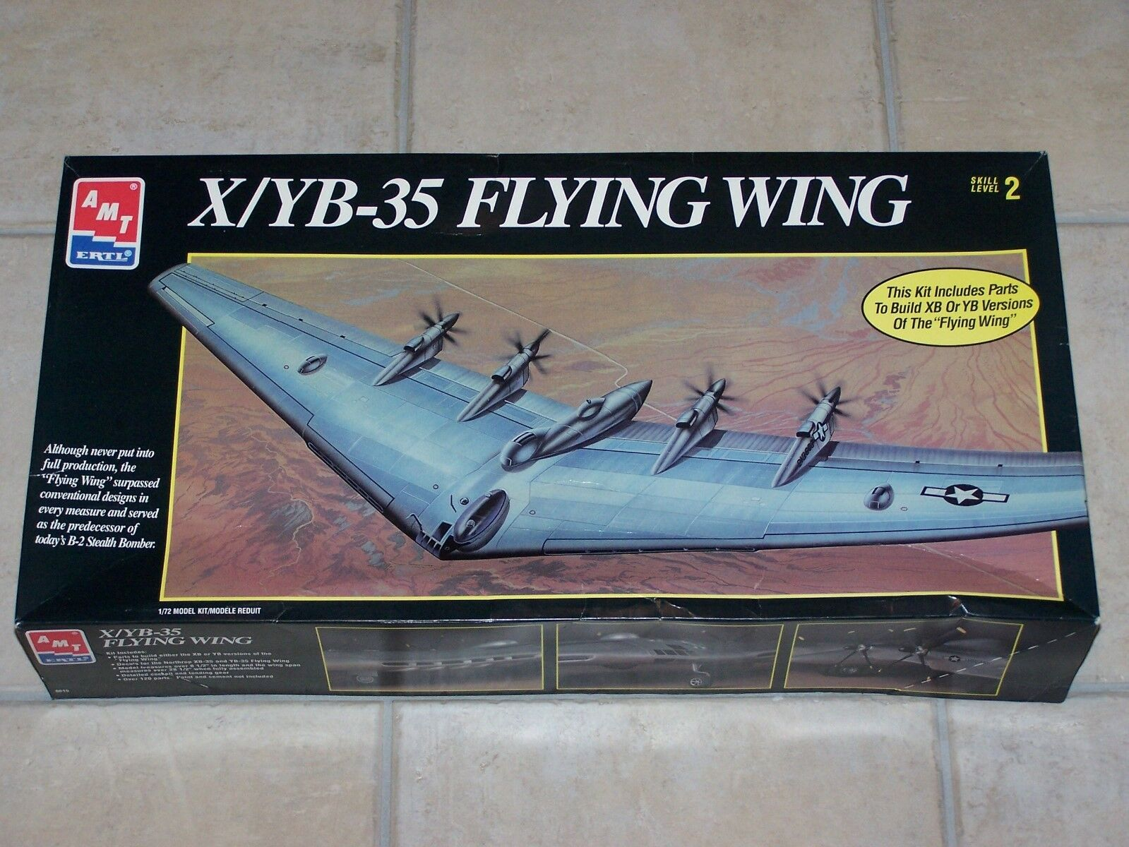 Maquette AMT 1 72ème X YB-35 FLYING WING